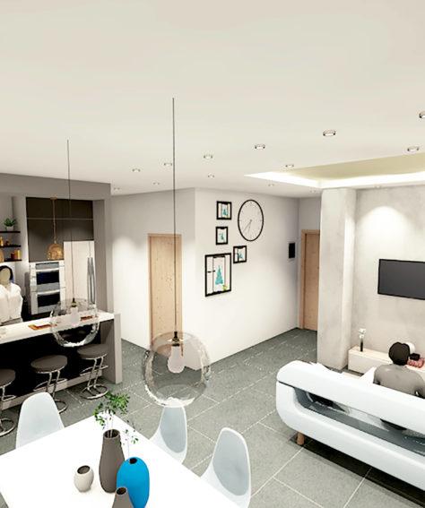 Appartamento signorile – Villa Alari – Cernusco sul Naviglio MI