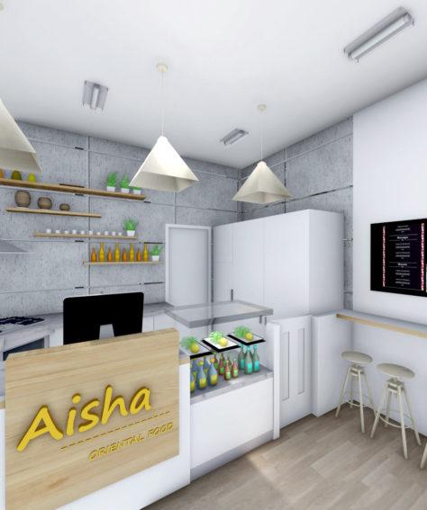 Aisha Oriental Food & take away – Via Padova Milano